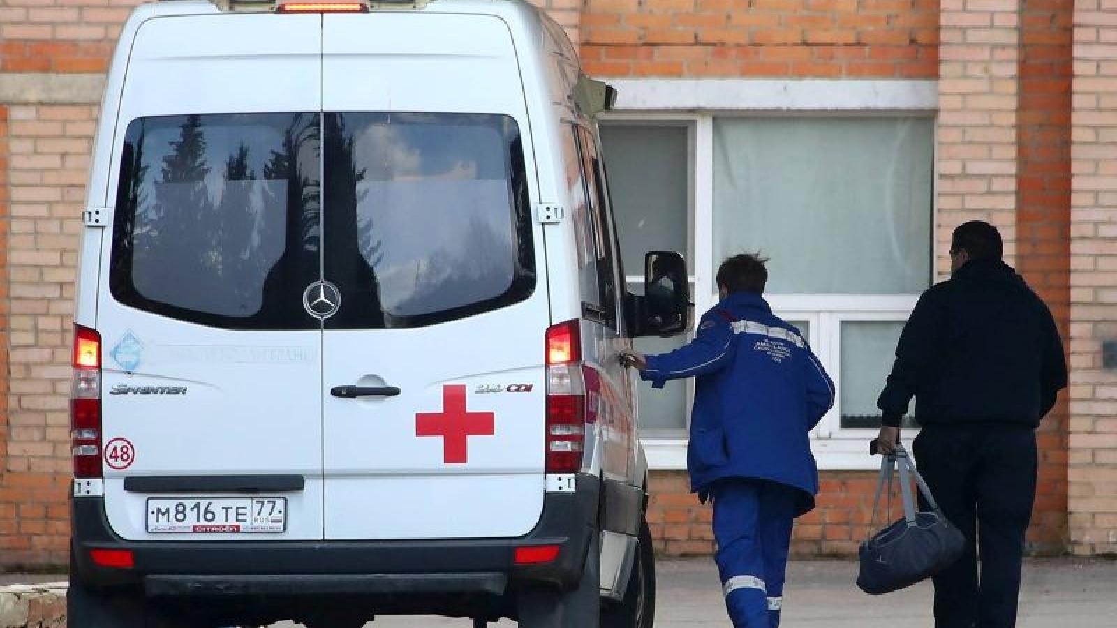 Số ca tử vong vì Covid-19 ở Moscow (Nga) đã vượt mốc 100
