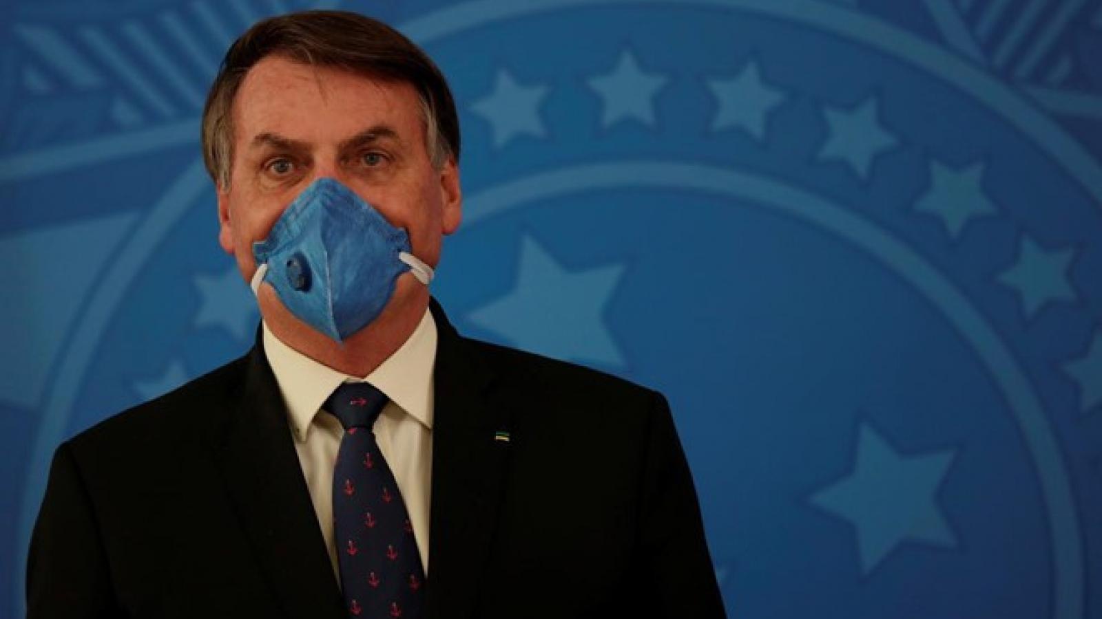 """Tổng thống Brazil: Sa thải Bộ trưởng Y tế là """"cuộc ly hôn đồng thuận"""""""