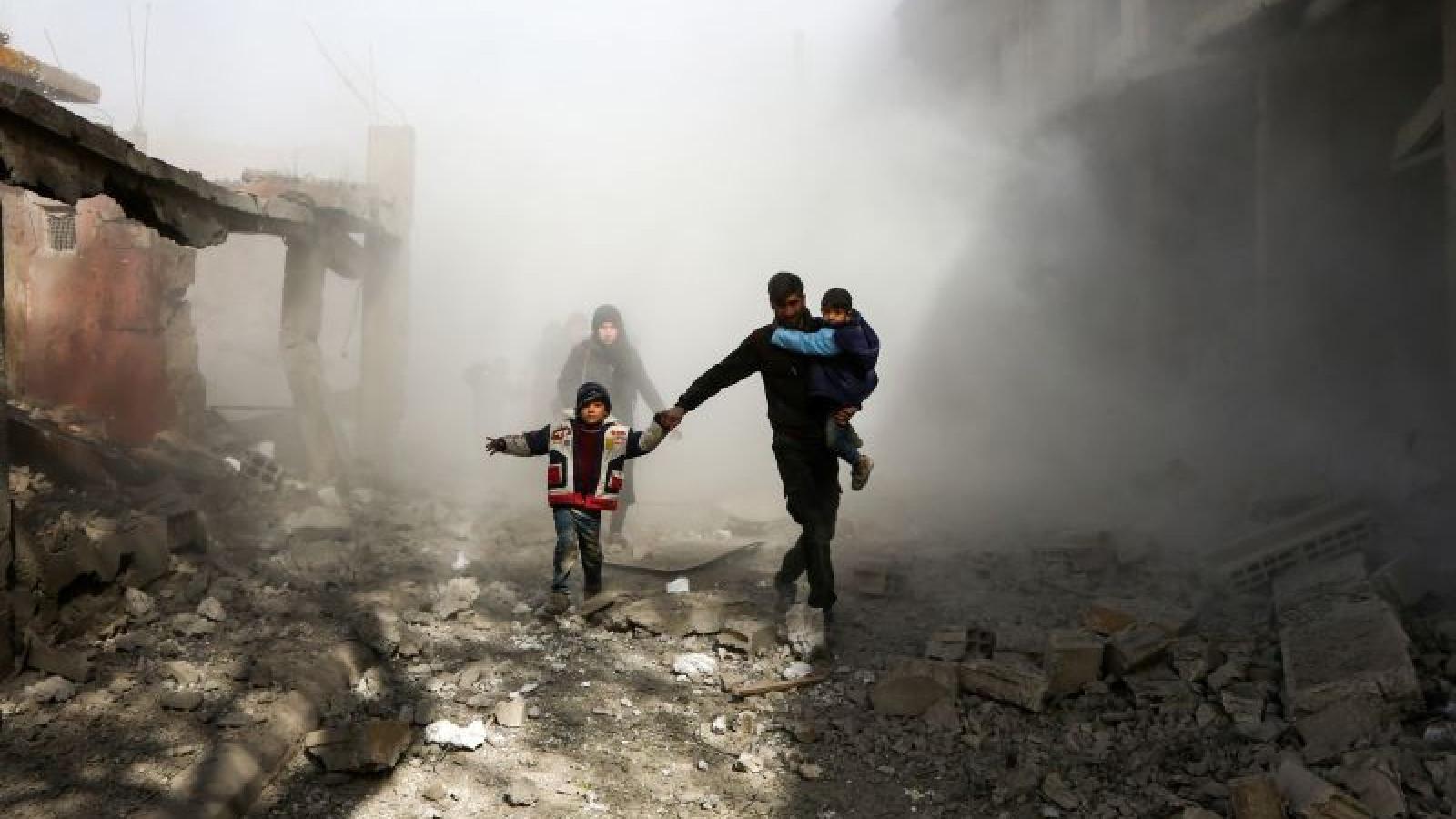 Hội đồng Bảo an LHQ thảo luận trực tuyến về vũ khí hoá học tại Syria