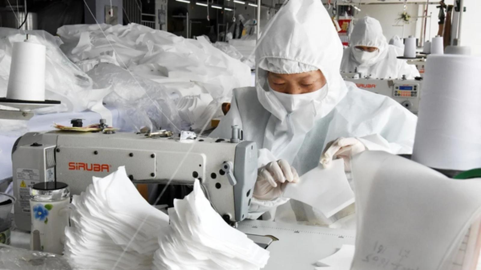 Mỹ kêu gọi Trung Quốc sửa đổi quy định xuất khẩu thiết bị y tế