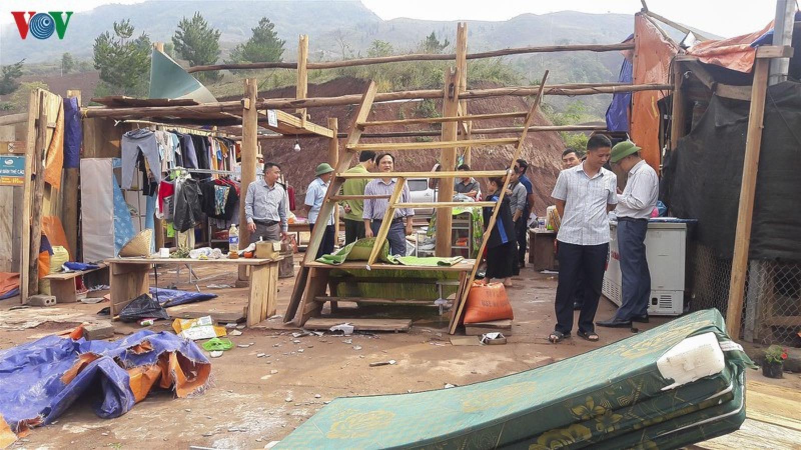 Điện Biên, Yên Bái tập trung khắc phục hậu quả mưa lốc