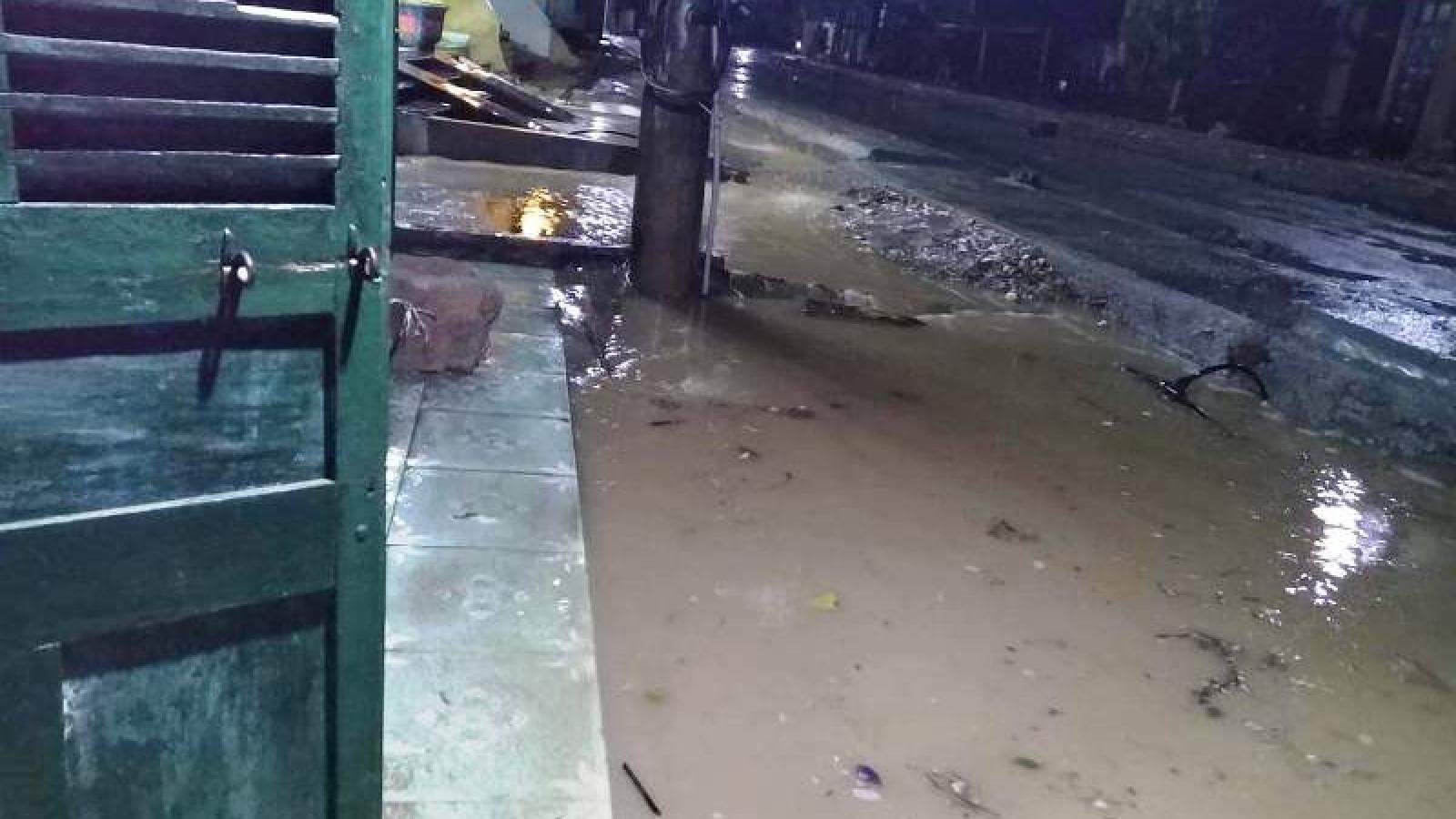 Yên Bái: Mưa to diện rộng và mưa đá ở một số địa phương