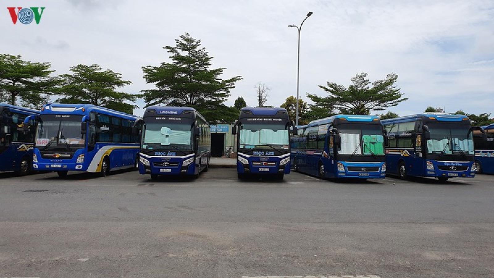 Đà Nẵng cho phép vận tải khách theo tuyến cố định hoạt động lại