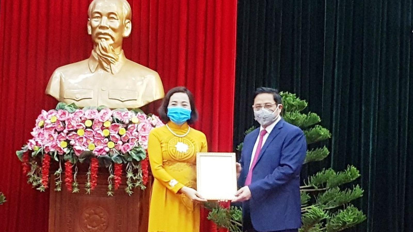 Bà Nguyễn Thị Thu Hà giữ chức Bí thư Tỉnh ủy Ninh Bình 