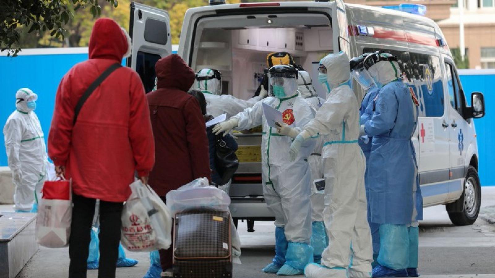 """Trung Quốc đại lục: ca nhiễm """"nội địa"""" tăng, không ghi nhận ca tử vong mới"""