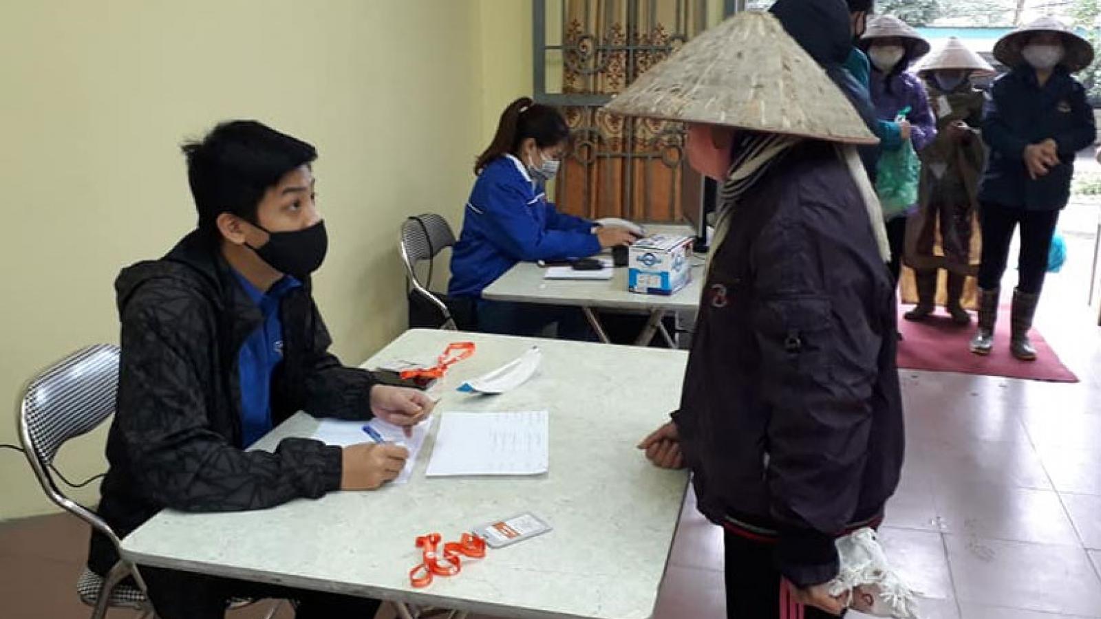 """ATM rút gạo """"bằng chân"""" thứ 2 ở Hà Nội chính thức phục vụ người nghèo"""