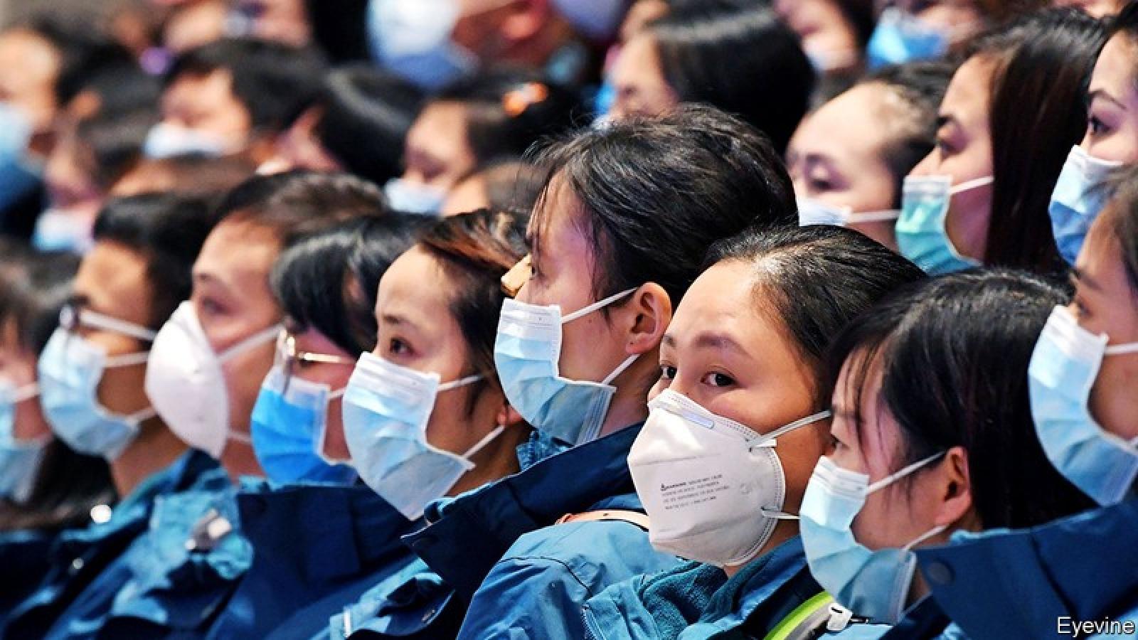 Trung Quốc có 6.764 ca Covid-19 không triệu chứng