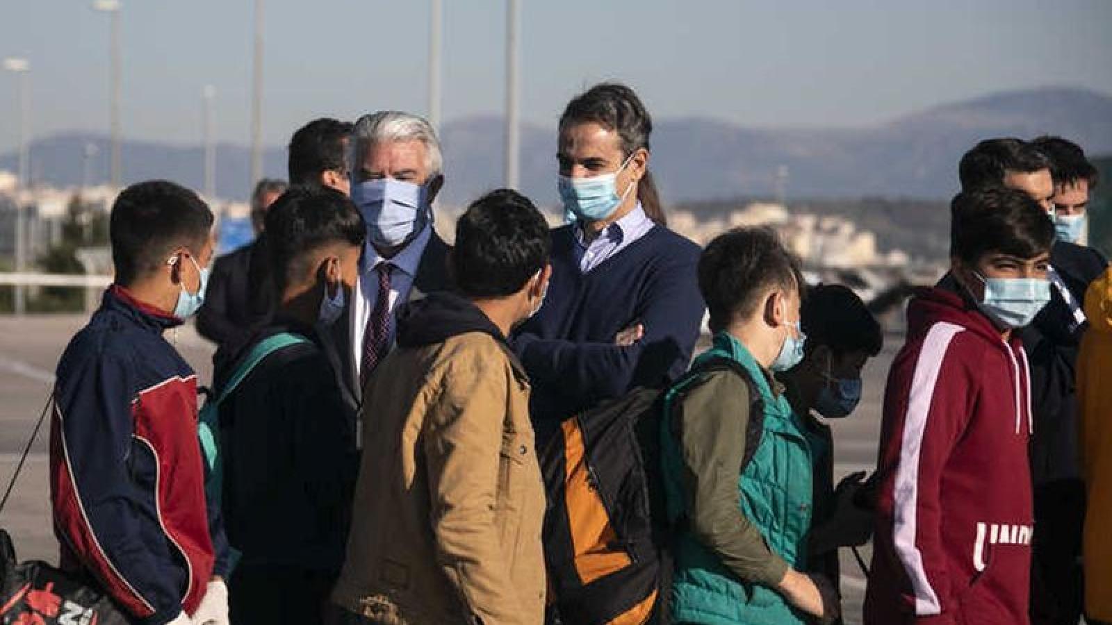 Chuyến bay thứ 2 của Hy Lạp đưa trẻ di cư đã tới Đức