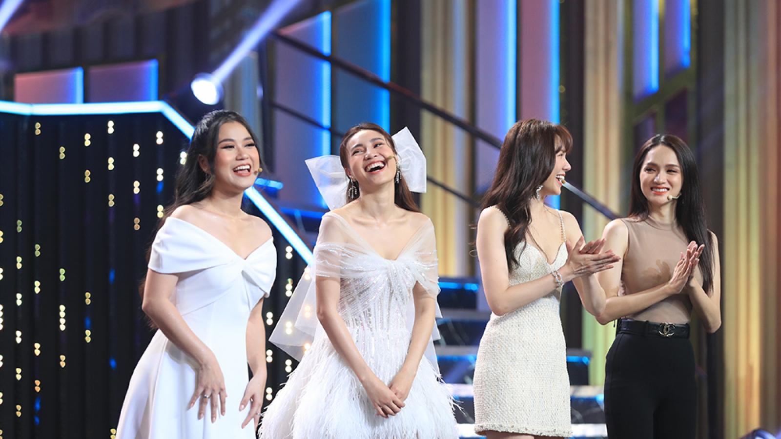 Hari Won, Ninh Dương Lan Ngọc xúng xính diện váy cưới xinh đẹpa
