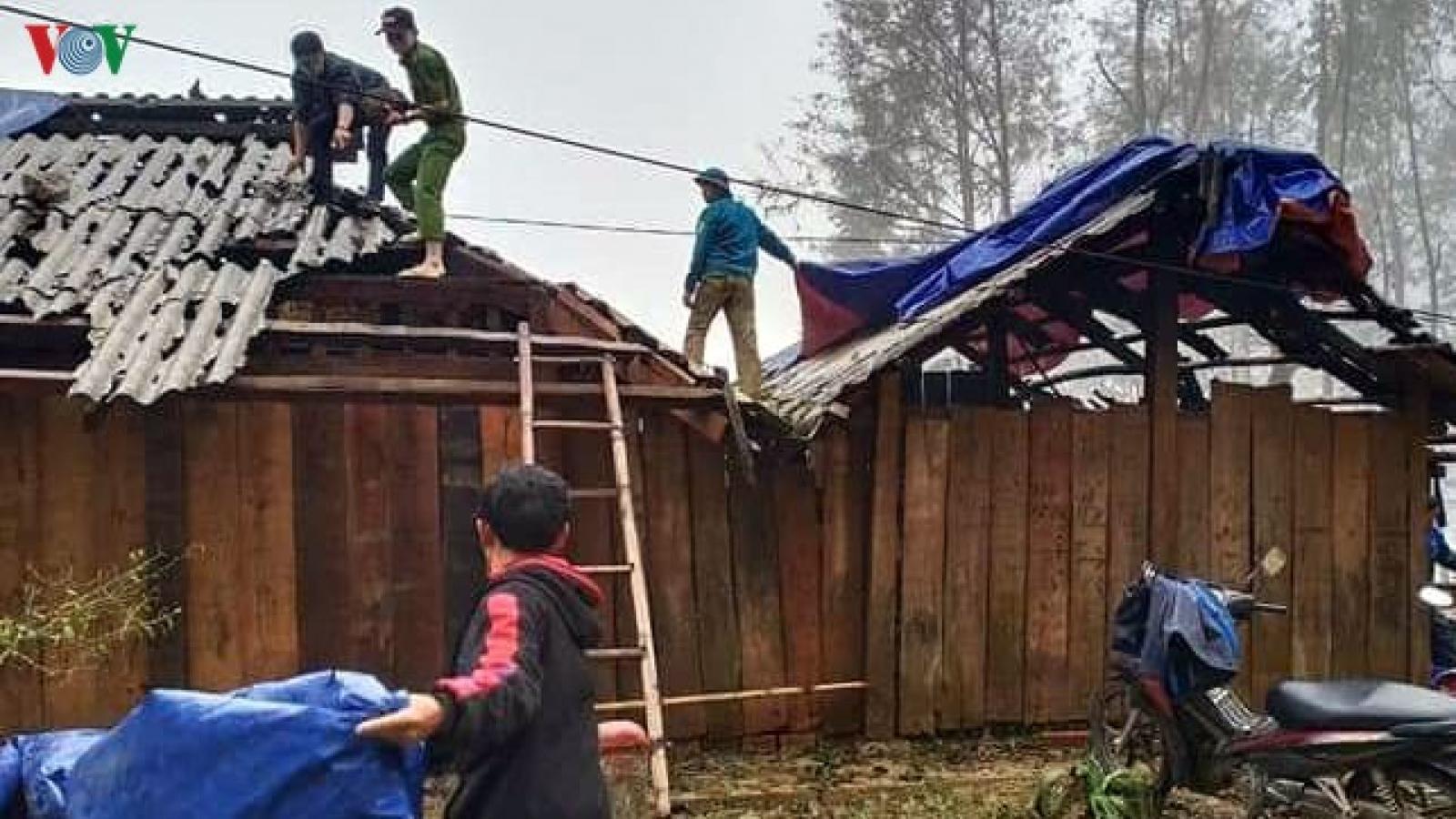 Ảnh: Người dân Phong Thổ, Lai Châu ấm lòng hơn sau thiên tai