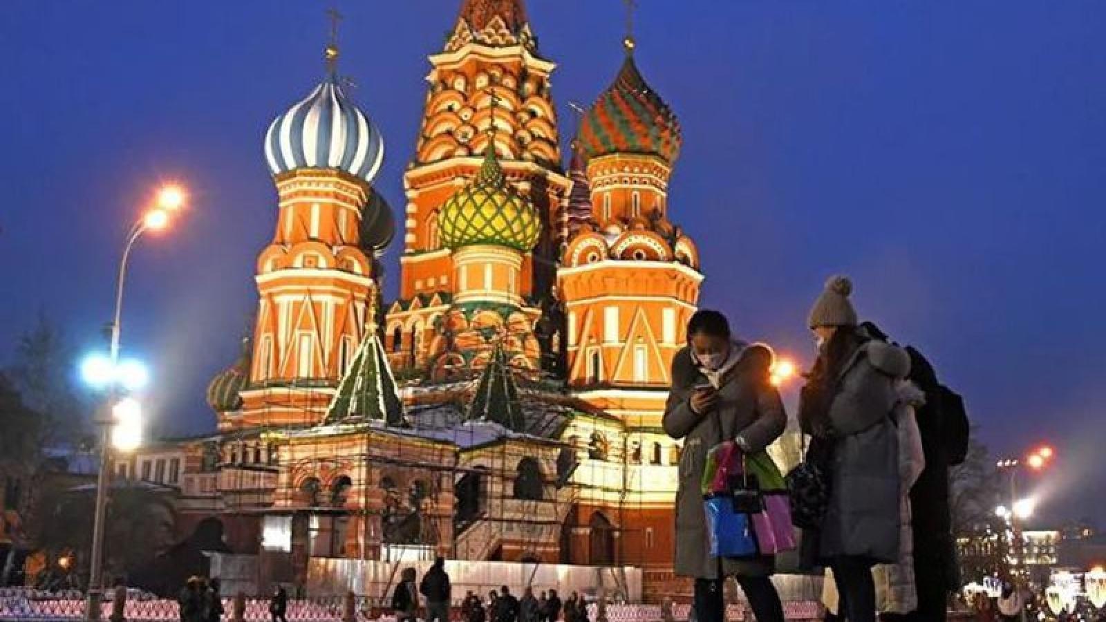 Nga ghi nhận số ca mắc Covid-19 kỷ lục hơn 6.000 trong vòng 24 giờ