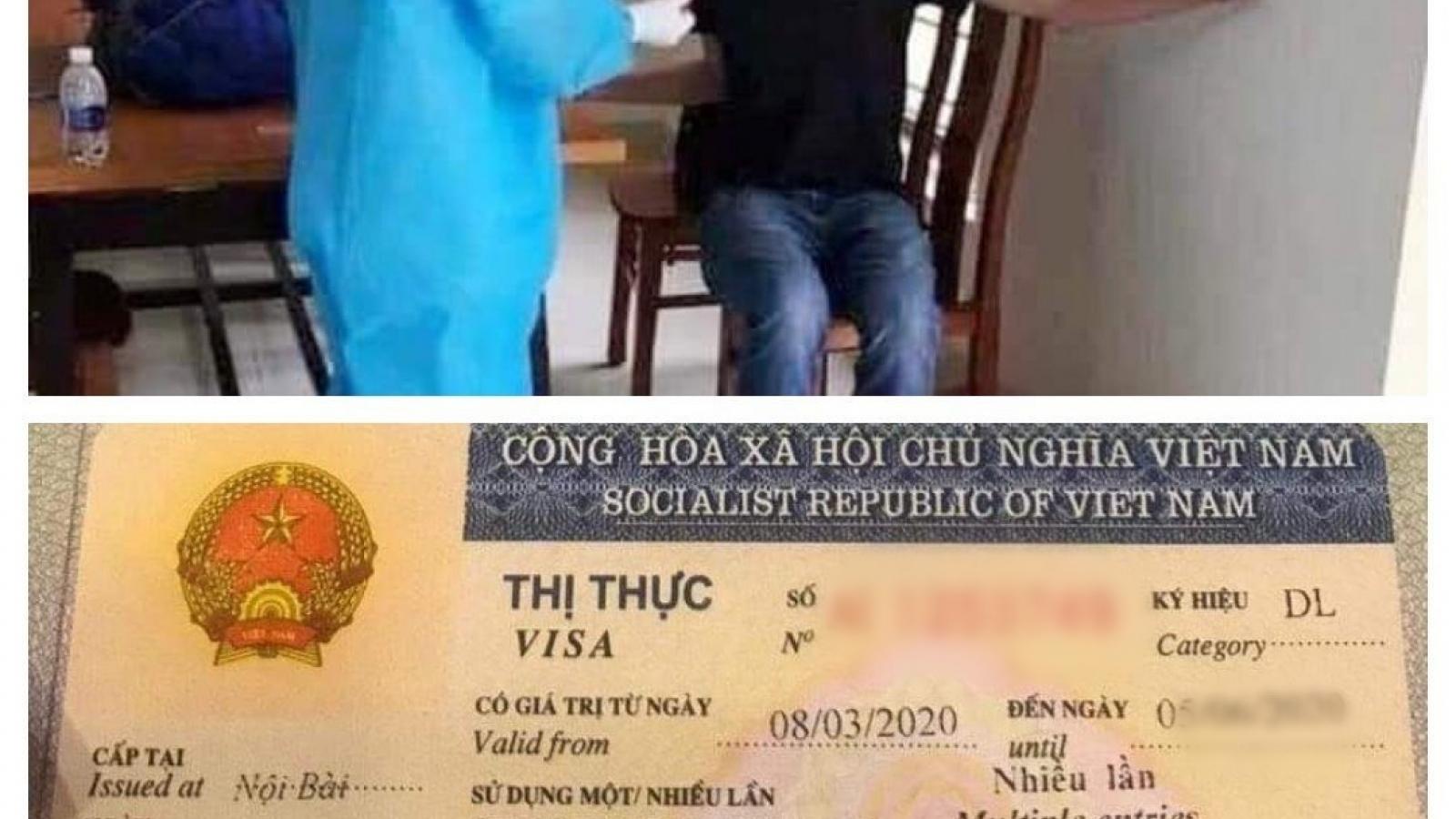 Một người Đức trốn cách ly ở Thanh Hóa được tìm thấy ở phố cổ Hà Nội