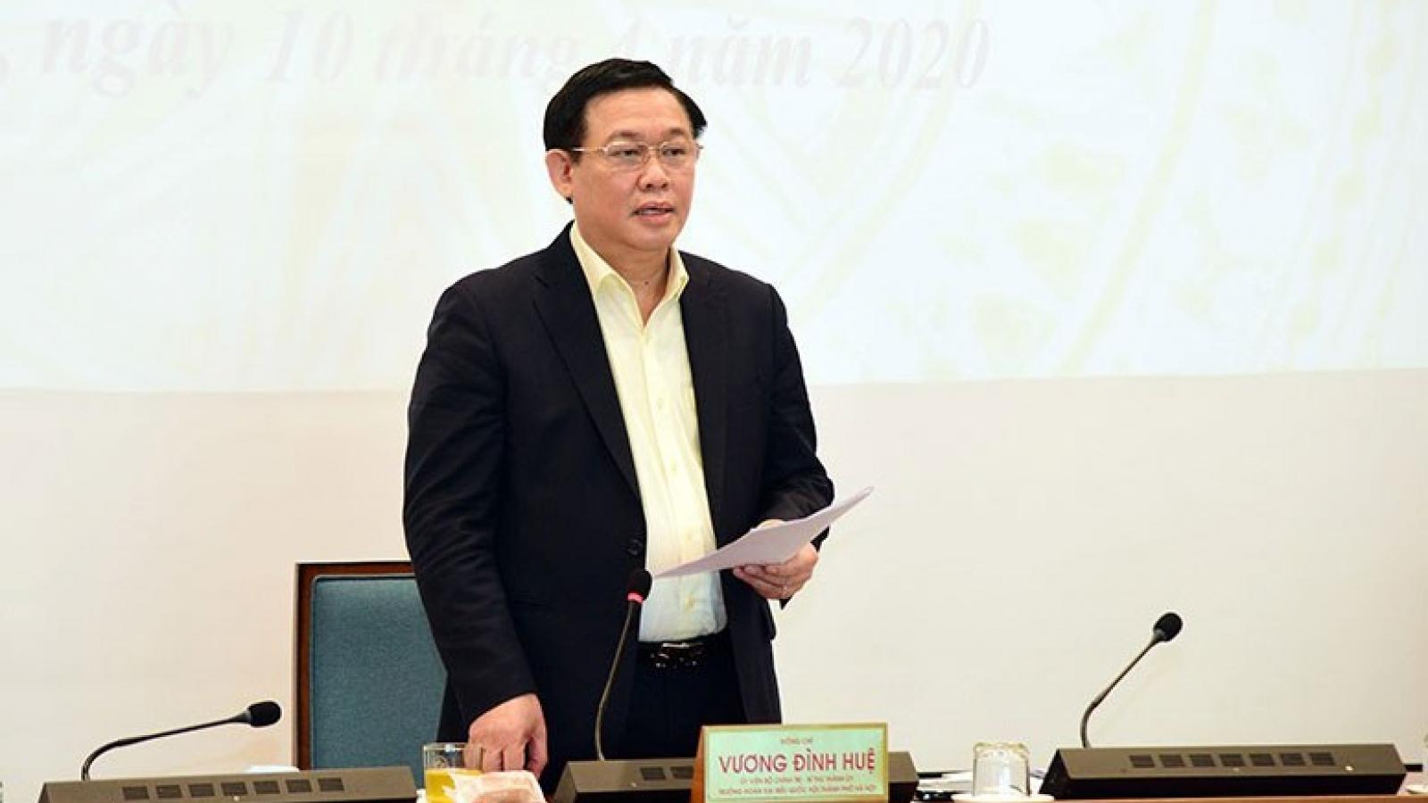 Bí thư Thành ủy Hà Nội mong doanh nghiệp hiến kế để duy trì đà tăng trưởng
