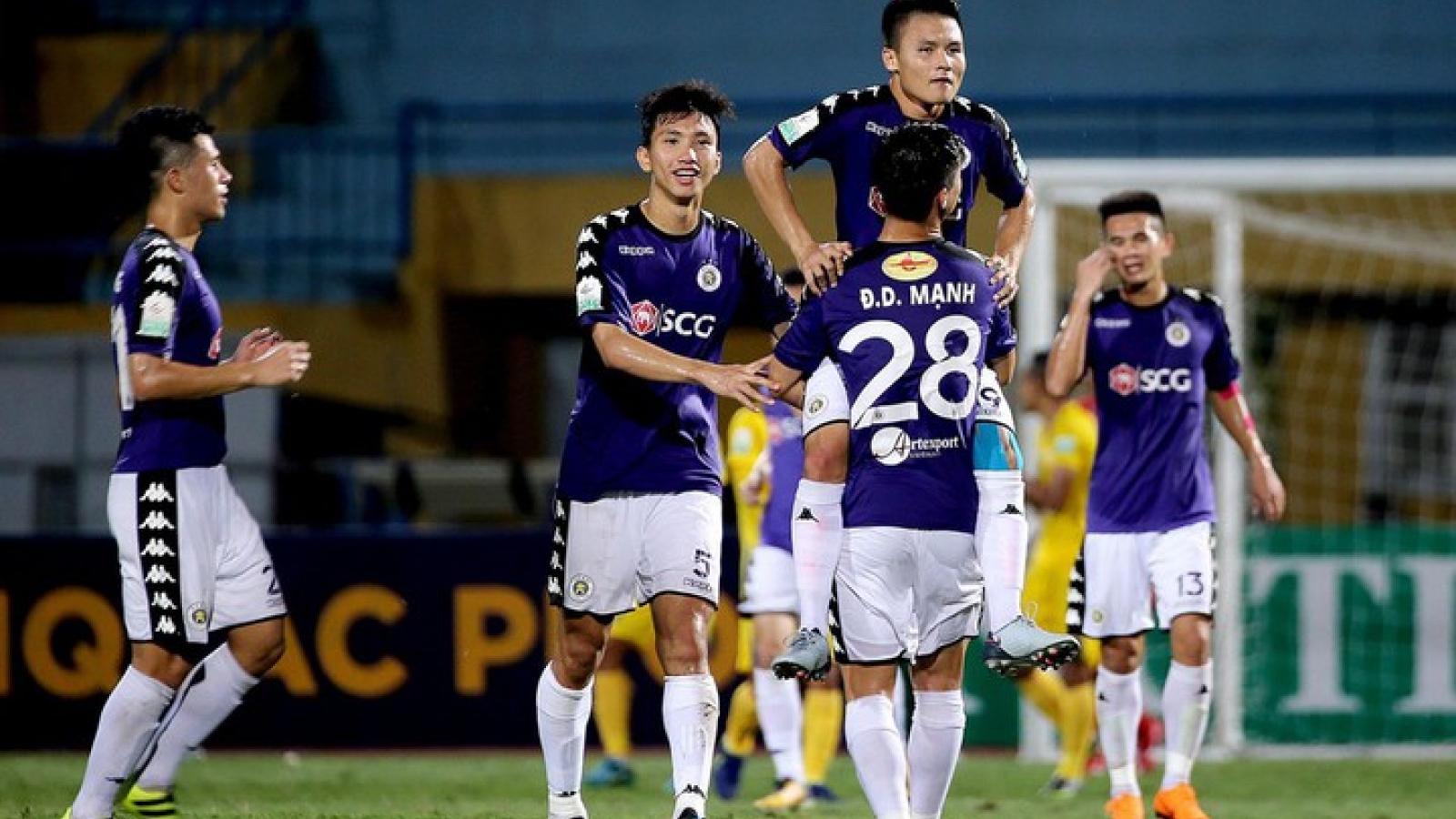 Hà Nội FC là đội bóng hay nhất lịch sử V-League