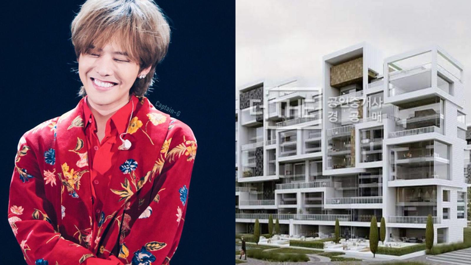 Cận cảnh căn hộ hạng sang trị giá hơn 170 tỷ đồng của G-Dragon