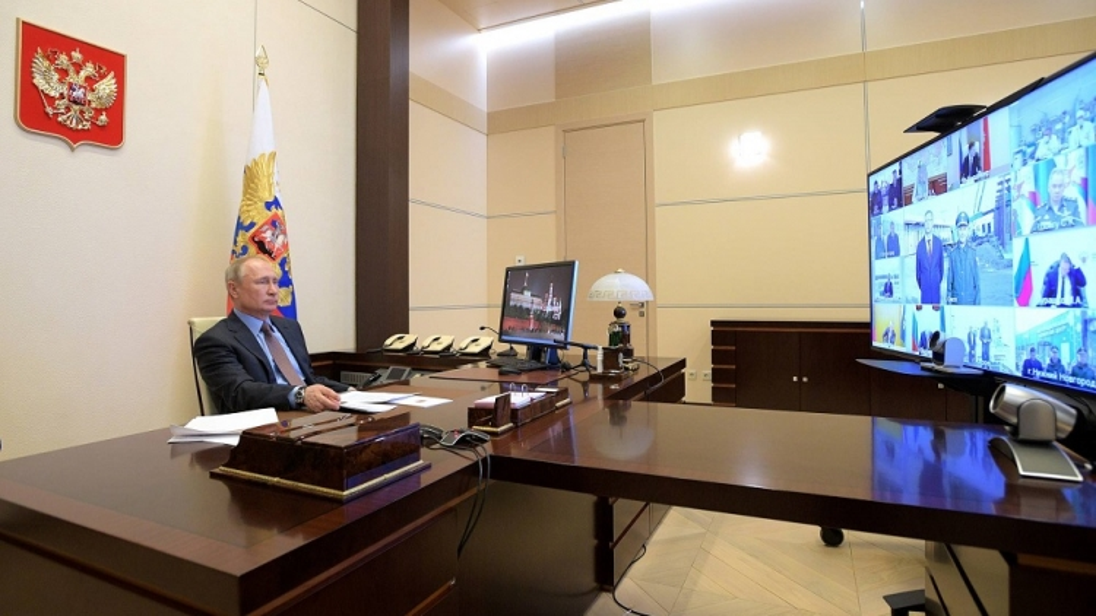 Tổng thống Nga V.Putin: dịch Covid-19 lây lan từ Moscow đến các vùng