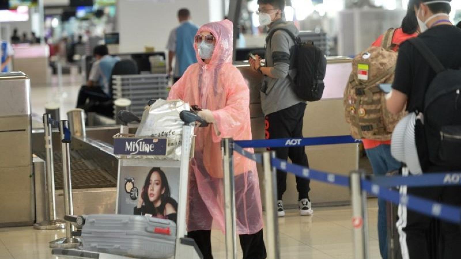 Thái Lan gia hạn lệnh cấm các chuyến bay tới nước này đến hết tháng 4