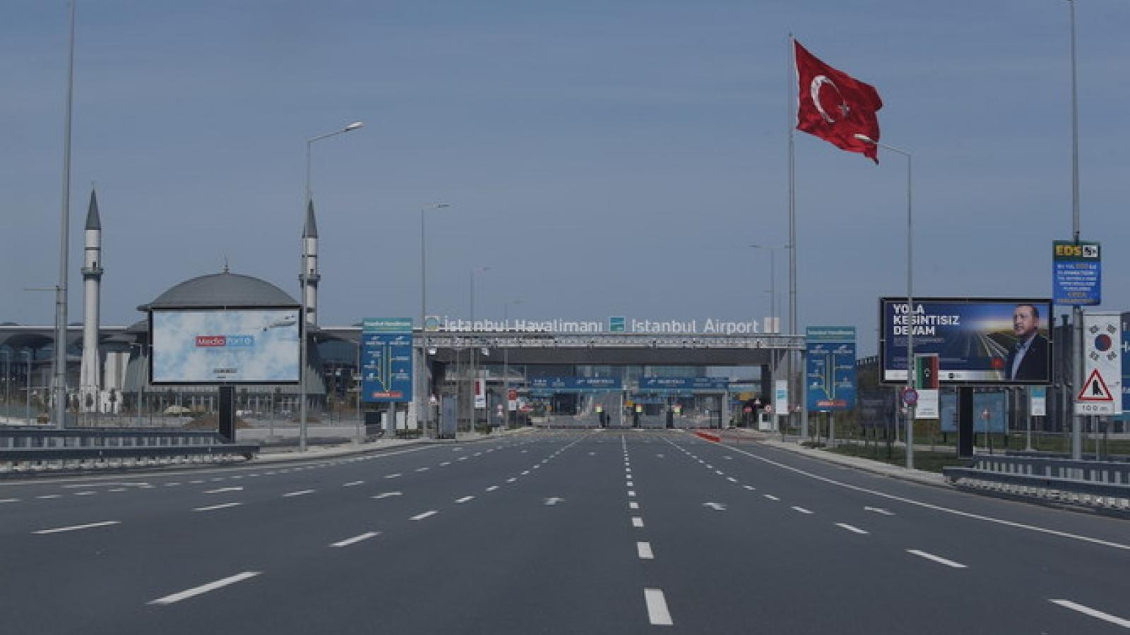 Thổ Nhĩ Kỳ có số ca mắc Covid-19 lớn nhất Trung Đông