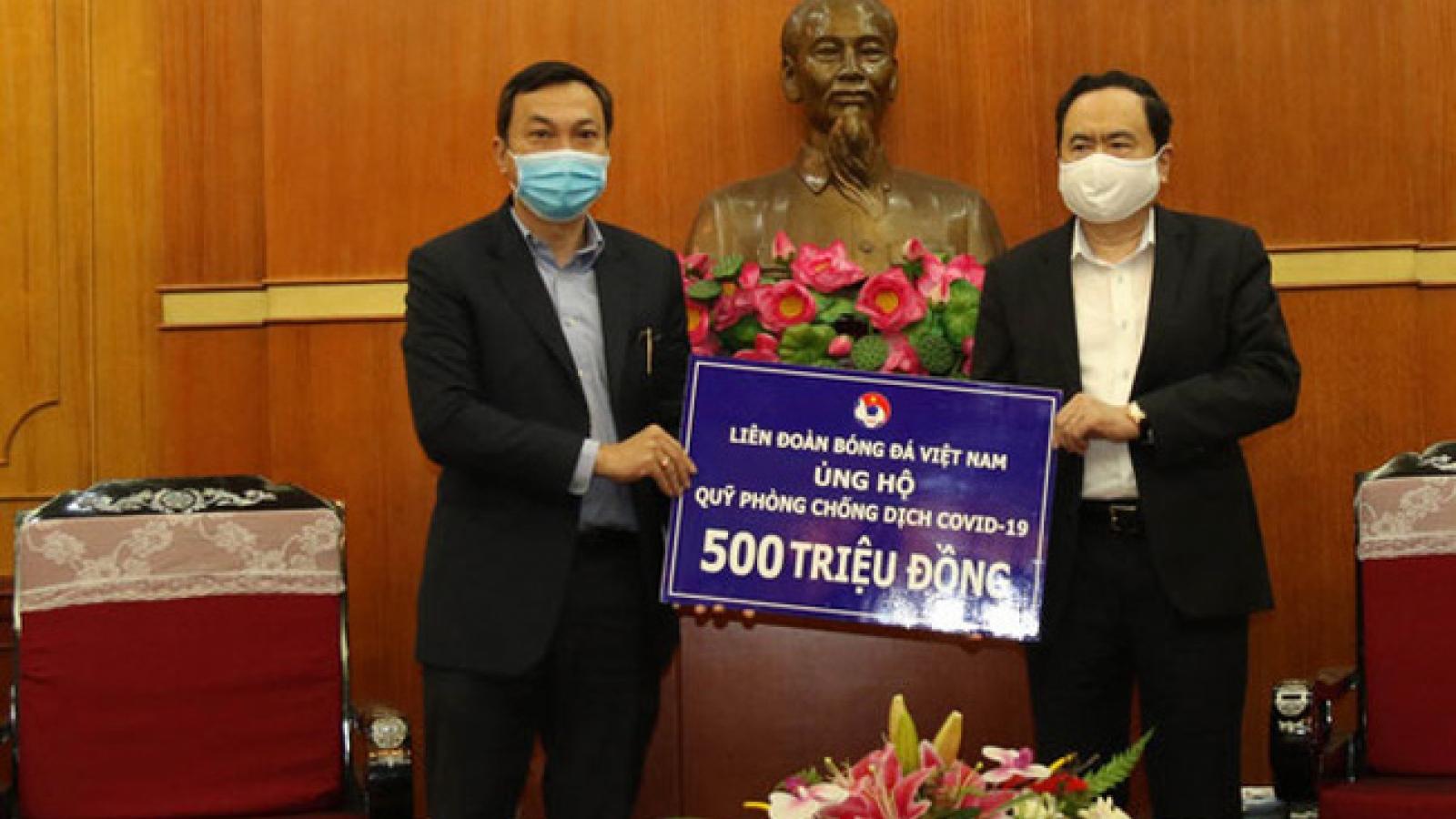 VFF ủng hộ 500 triệu đồng vào quỹ phòng, chống dịch Covid-19