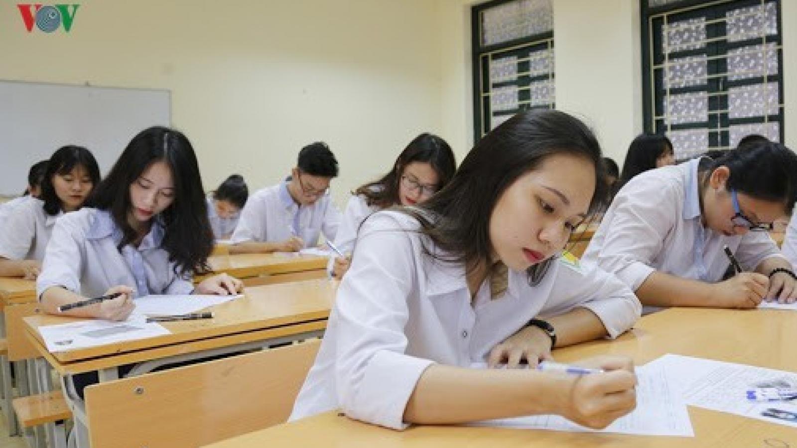 Bộ Giáo dục & Đào tạo đề xuất phương án thi tốt nghiệp THPT
