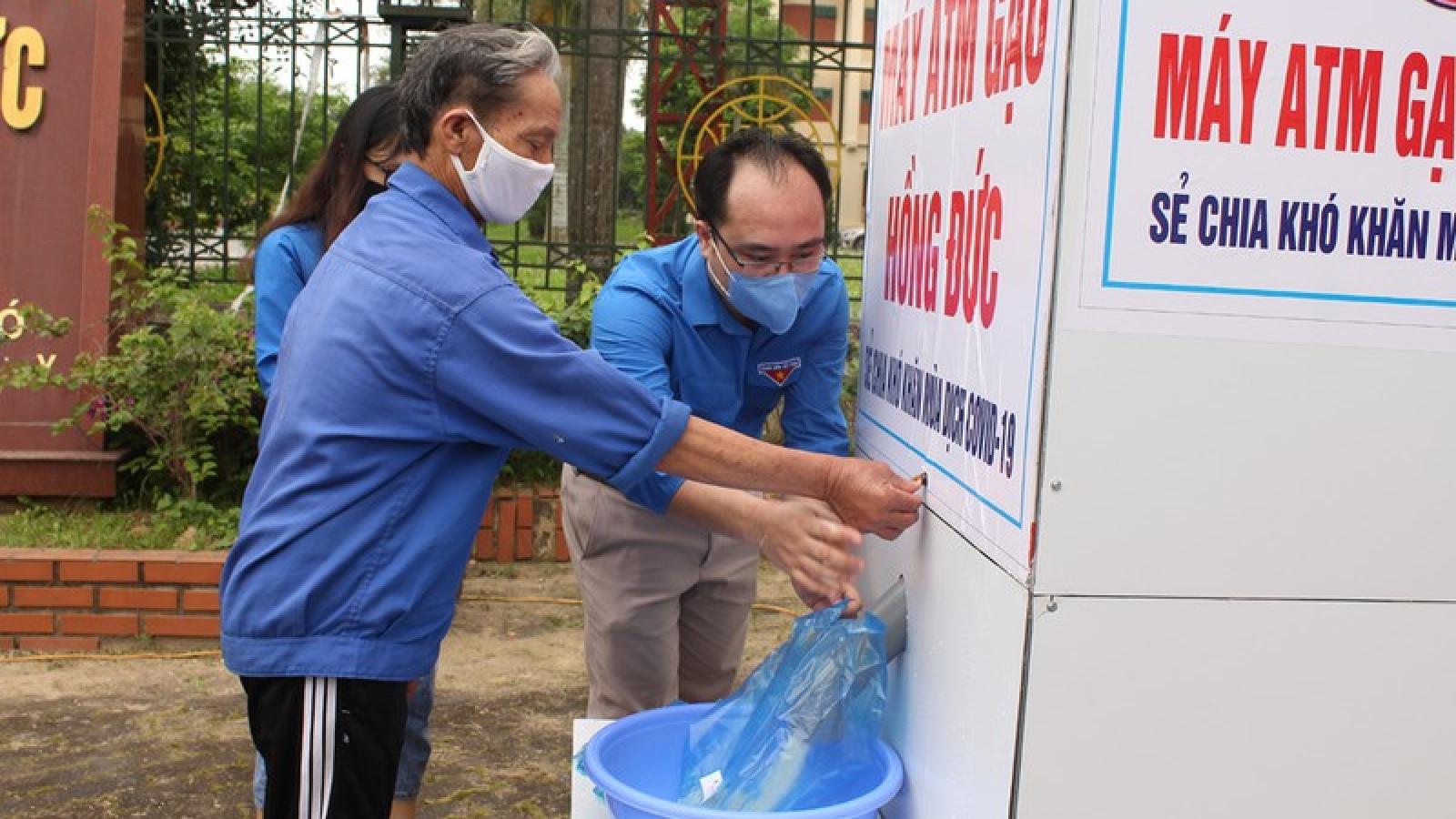 """Cây """"ATM"""" gạo đầu tiên đi vào hoạt động tại Thanh Hóa"""