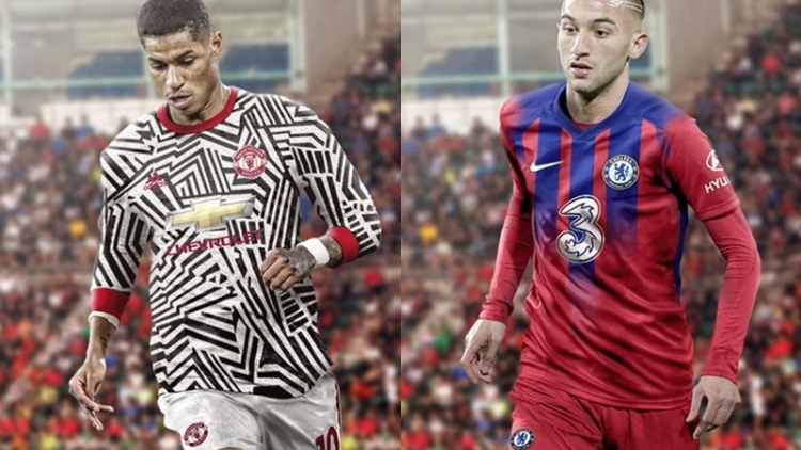"""Áo đấu mùa giải 2020/2021: MU và Chelsea có mẫu trang phục """"siêu dị"""""""