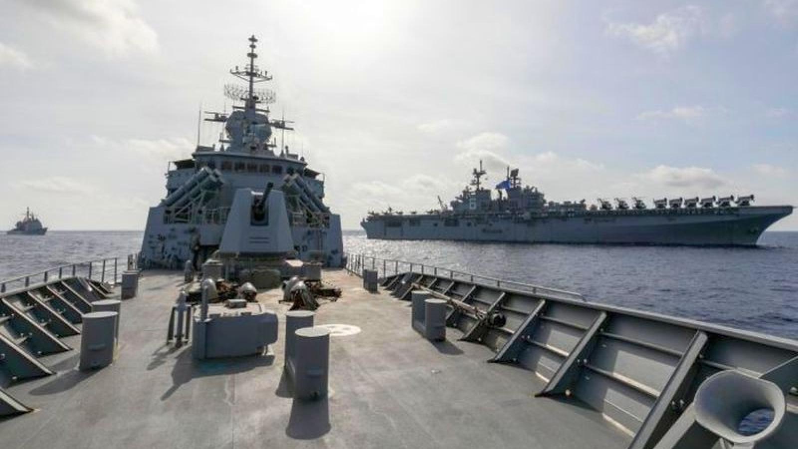 Australia và Mỹ tập trận chung trên Biển Đông
