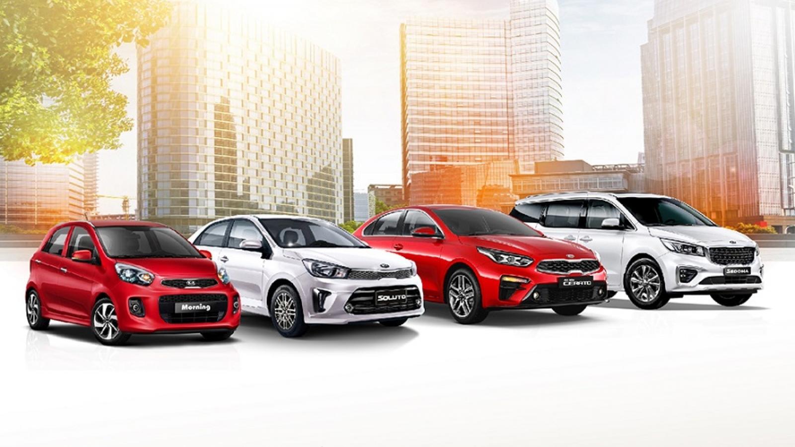 Tiết kiệm đến 70 triệu đồng, nhận quà tặng cao cấp khi mua xe Kia tháng 4