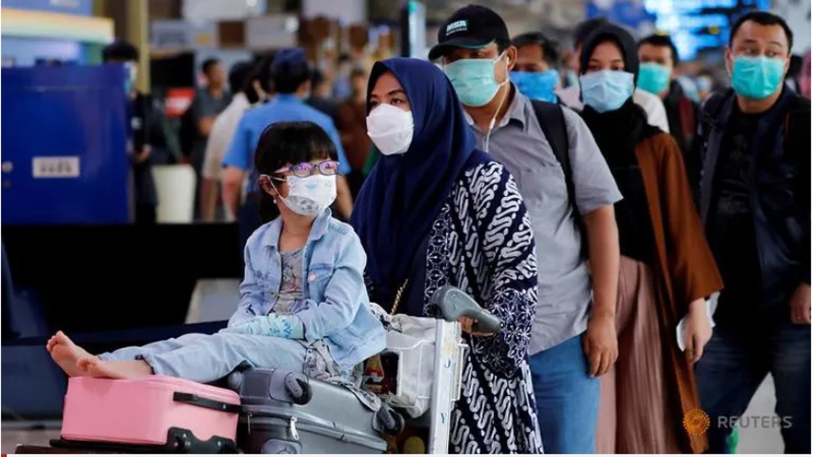 Indonesia cấm du lịch hàng không đến đầu tháng 6