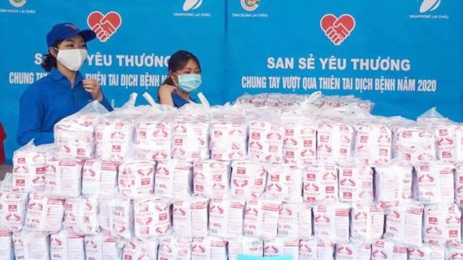 Gian hàng 0 đồng ở Lai Châu, nơi san sẻ yêu thương