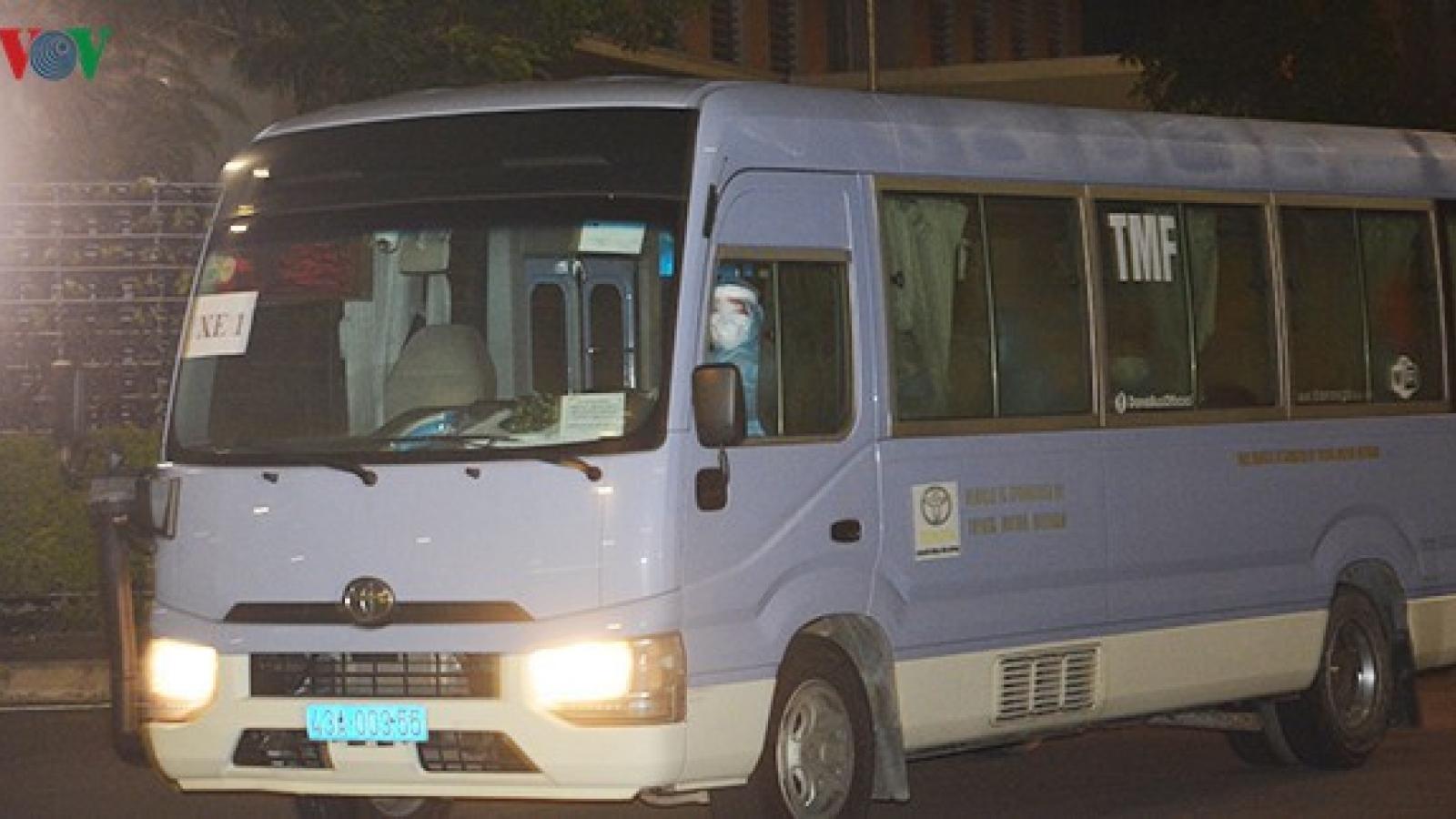55 người về Đà Nẵng từ Ý có kết quả âm tính lần 2 với SARS-CoV-2