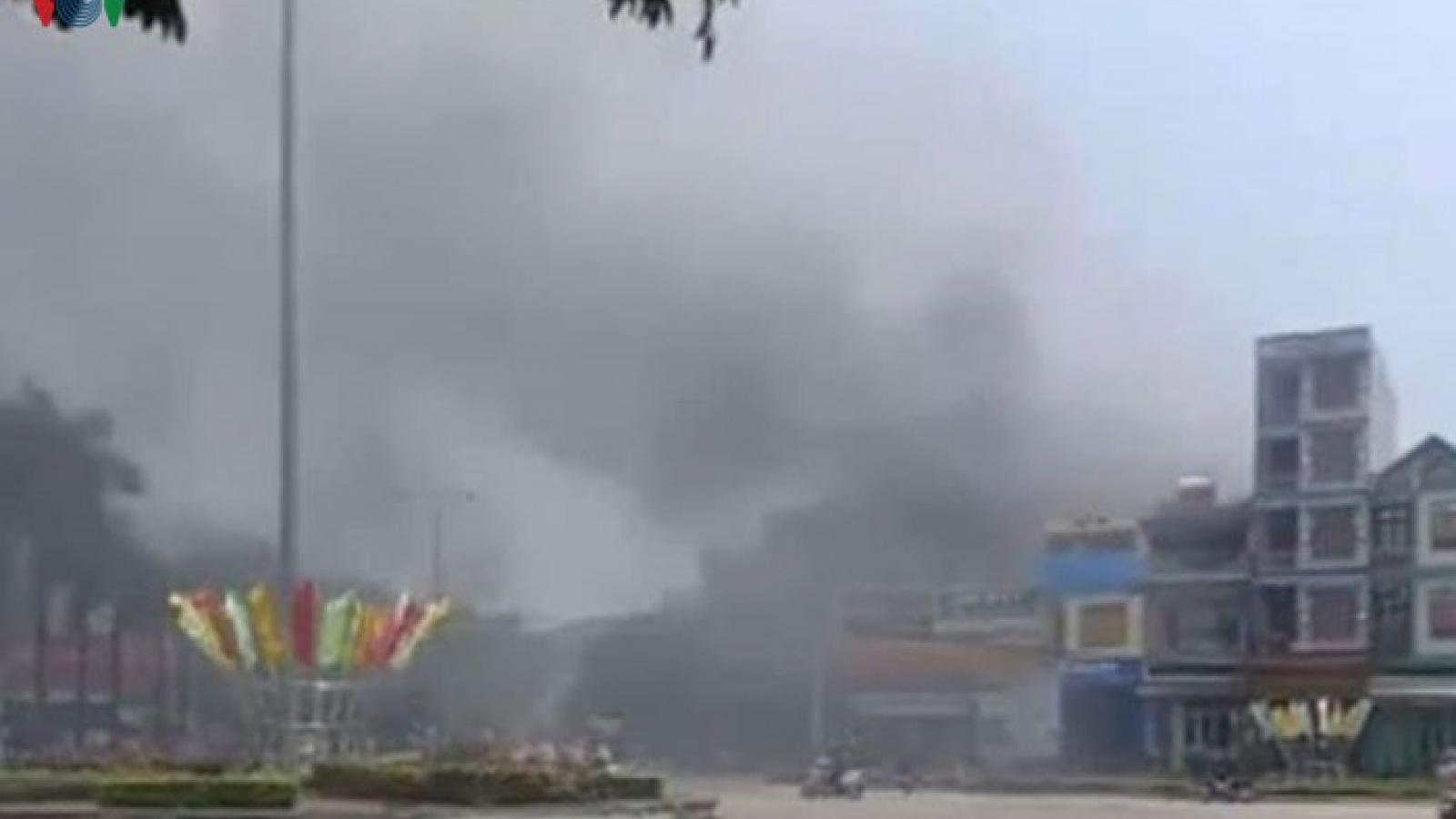 Cháy điểm kinh doanh cafe - karaoke tại thành phố Bắc Kạn