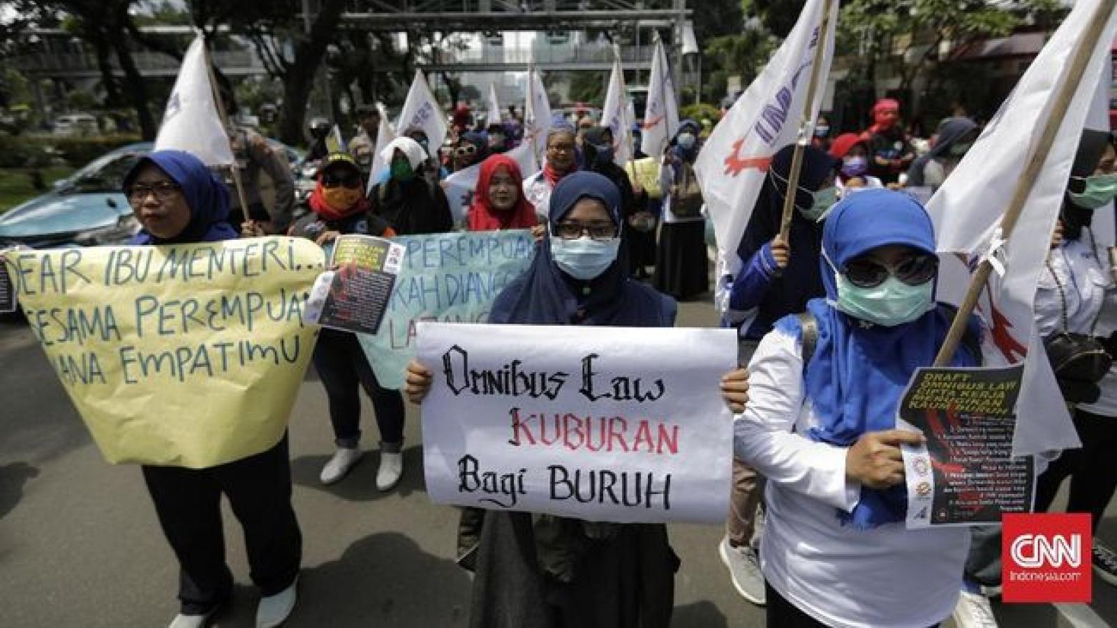 Indonesia đảm bảo không có biểu tình trong ngày Quốc tế lao động