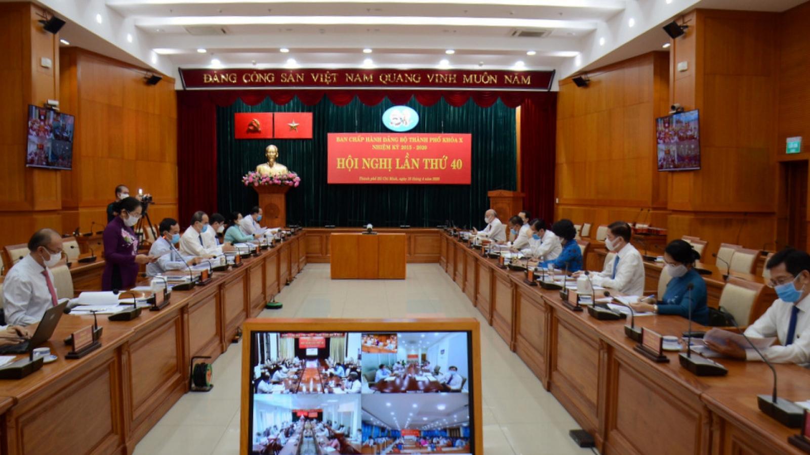 Hội nghị Ban Chấp hành Đảng bộ TPHCM: Kinh tế quý I chỉ tăng 0,42%