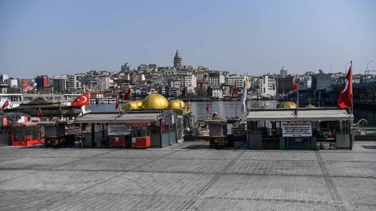 Thổ Nhĩ Kỳ ban hành luật giảm bớt tác động kinh tế do Covid-19