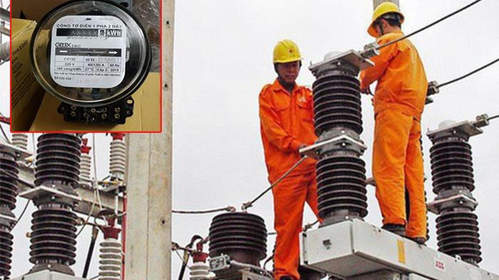 Tiền điện tăng cao, liệu có gian lận ở công tơ điện?