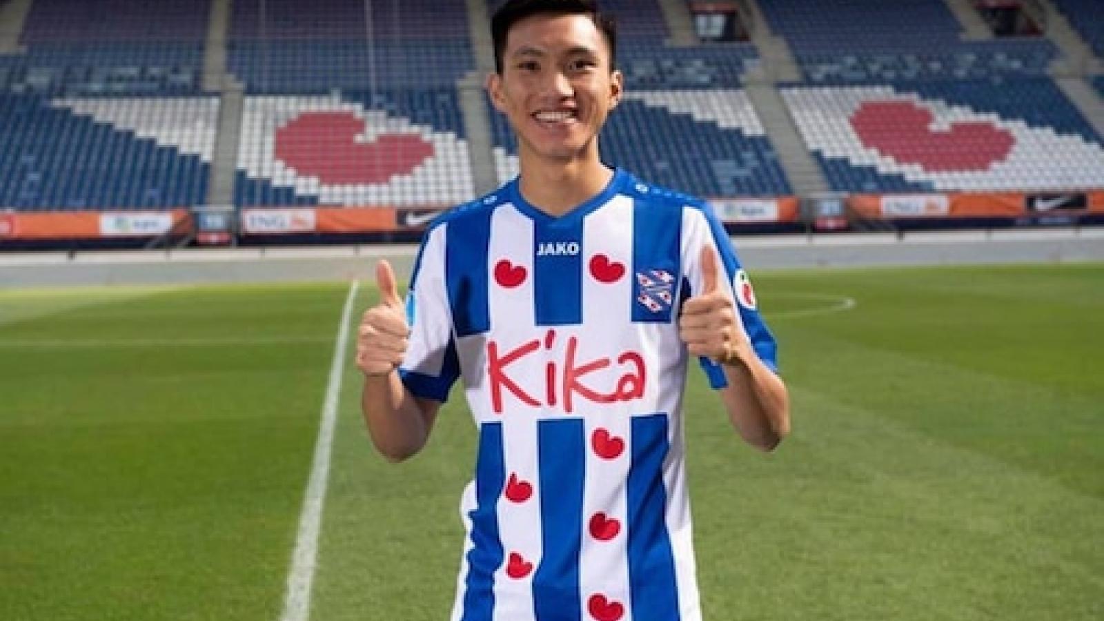 """Hà Nội FC """"sốt ruột"""" chờ Heerenveen chốt việc Đoàn Văn Hậu ở lại Hà Lan"""
