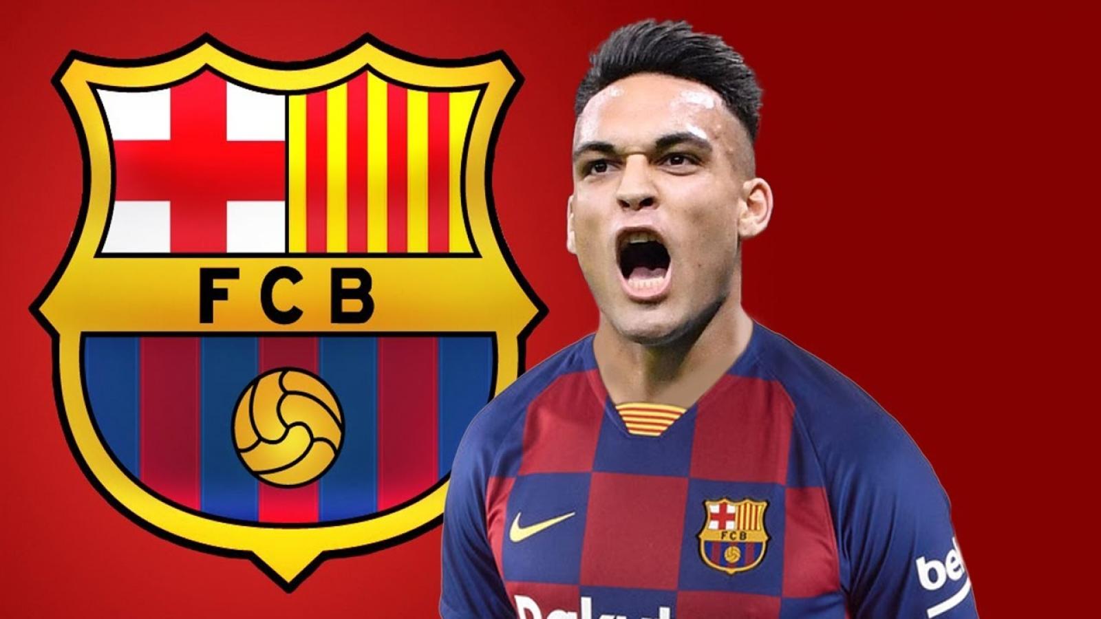 """Đội hình """"siêu tấn công"""" của Barca khi chiêu mộ thành công Lautaro Martinez"""
