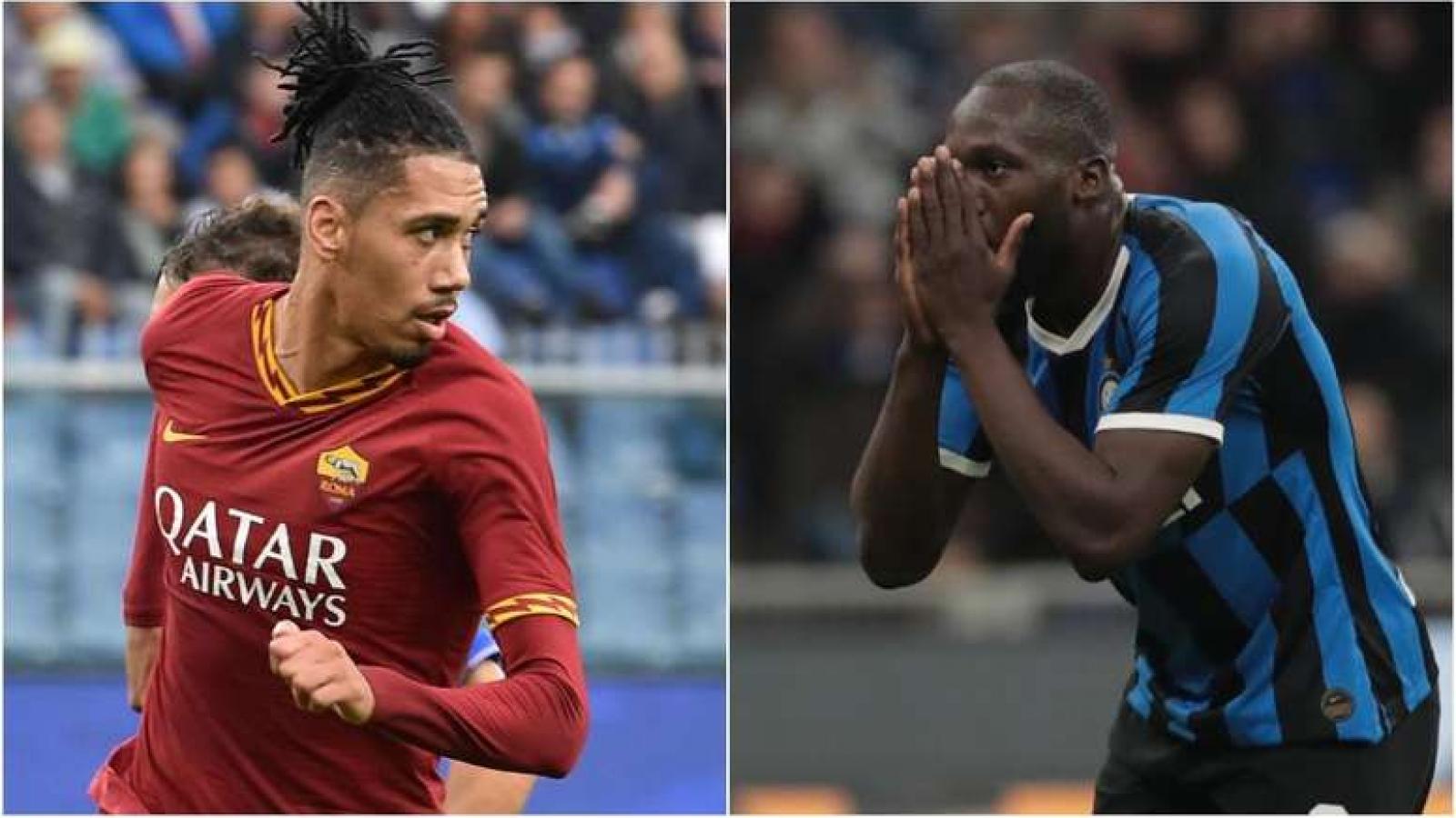Đội hình hay nhất Serie A trước khi bị hoãn: Có Smalling, vắng Lukaku