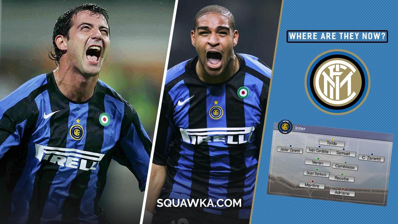 Đội hình Inter Milan một thời khuynh đảo PES 6