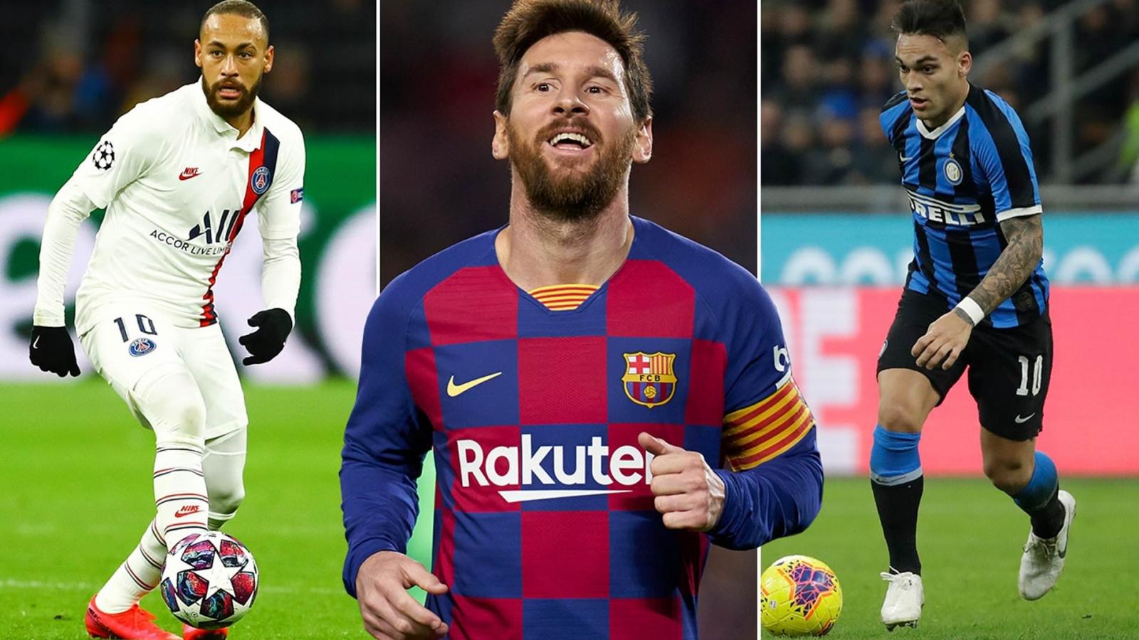 Đội hình 11 ngôi sao Nam Mỹ hay nhất thế giới thời điểm hiện tại