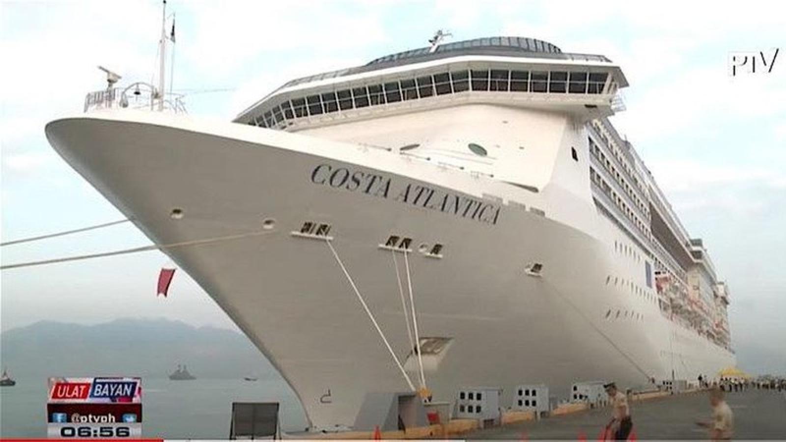 Nhật Bản đương đầu với ổ dịch mới trên du thuyền Costa Atlantica