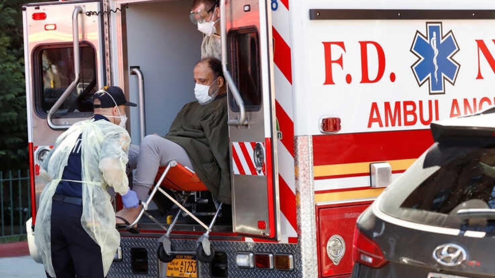 Thành phố New York (Mỹ) có hơn 10.000 ca tử vong do Covid-19