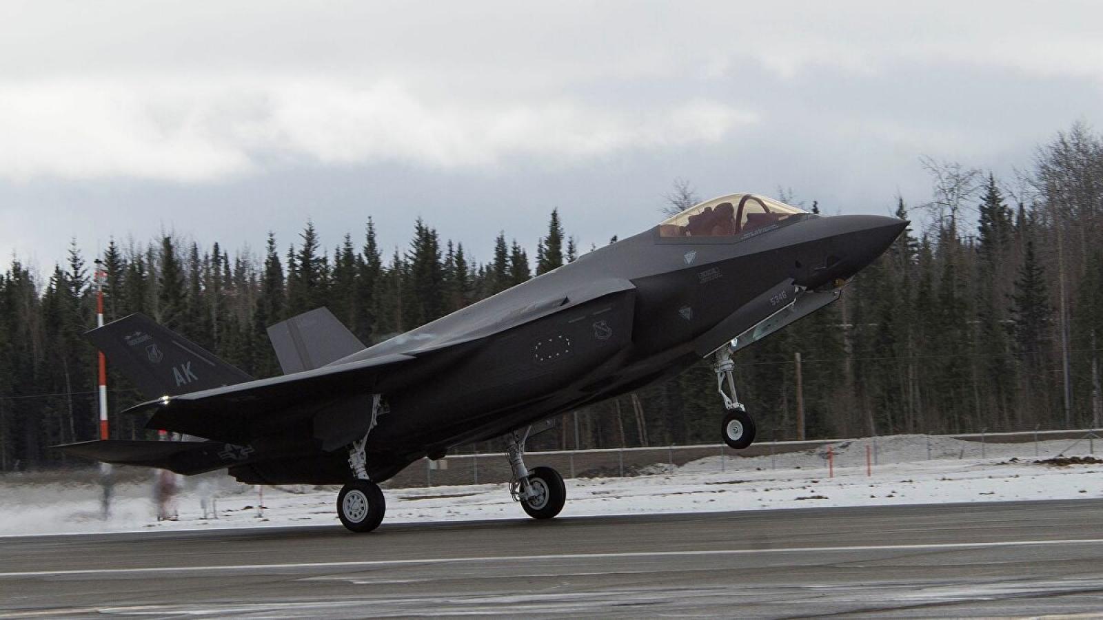 Mỹ triển khai F-35 tới Alaska, dè chừng Nga
