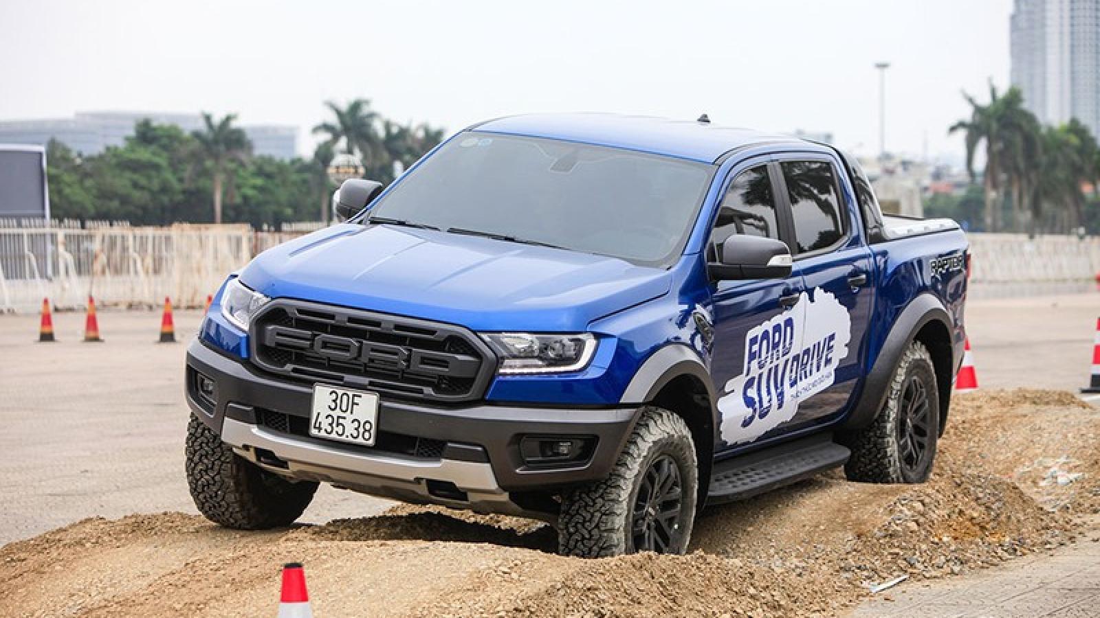 Triệu hồi gần 12.000 xe Ford Ranger, Raptor và Everest tại Việt Nam