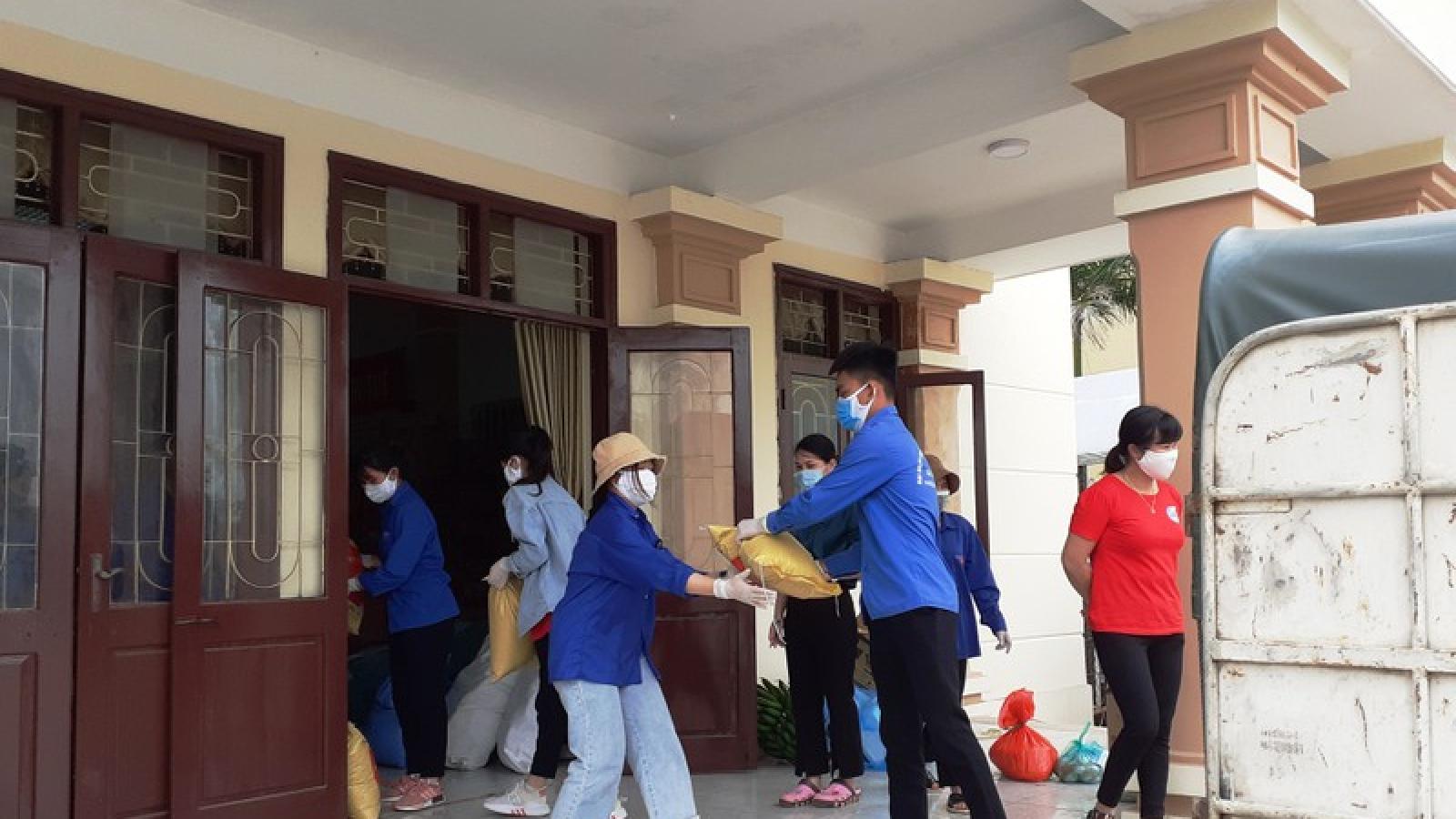 Sức trẻ sinh viên tình nguyện chống dịch tại Hạ Lôi