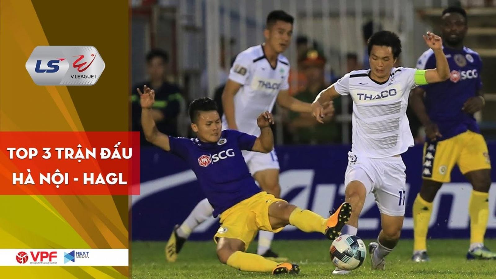 VIDEO: Những cuộc đối đầu kinh điển giữa Hà Nội FC và HAGL