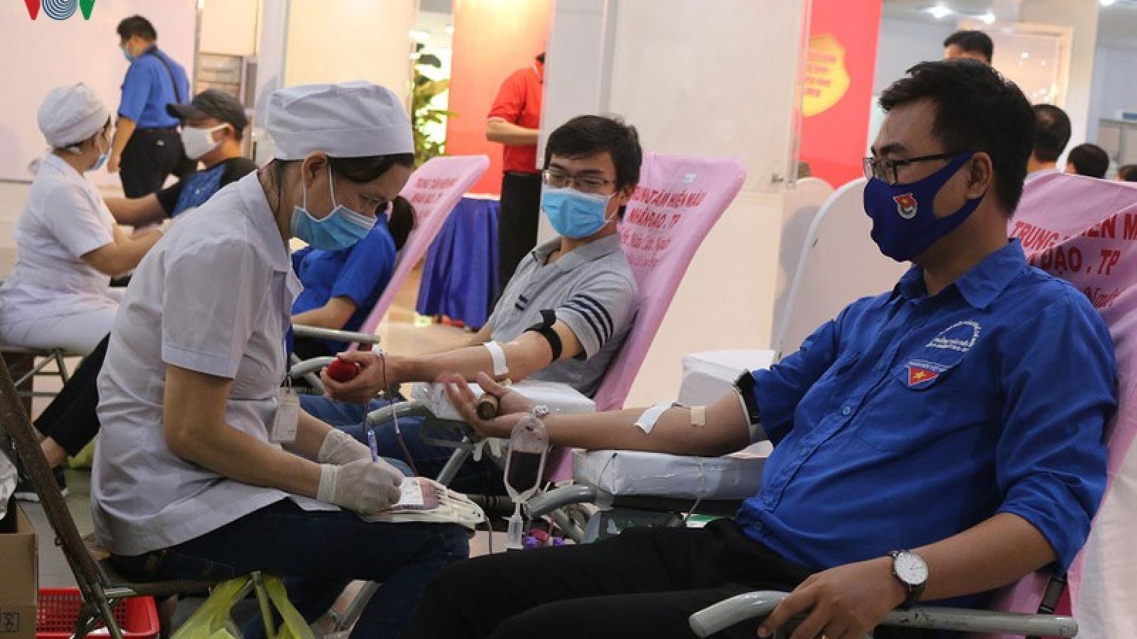 """TP HCM phát động """"Ngày hội hiến máu tình nguyện năm 2020"""""""