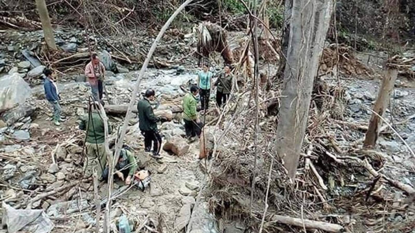 7 người chết và mất tích vì lũ quét tại Lào