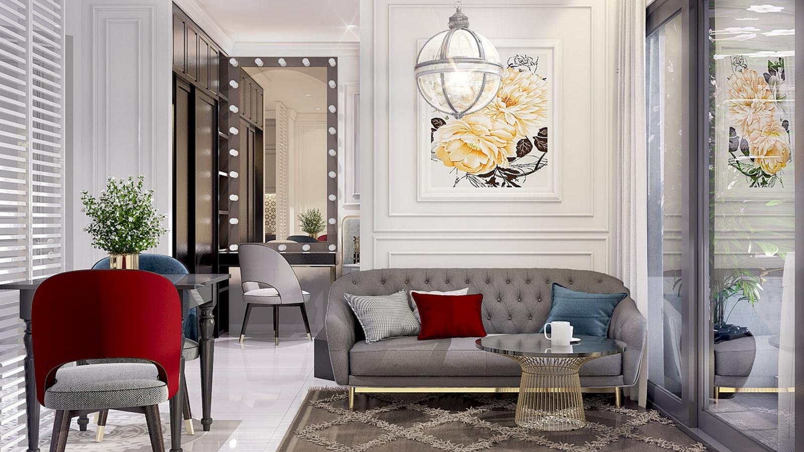 Căn hộ chung cư tân cổ điển khiến nhiều người thích thú